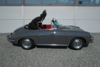 Porsche 356 C 1600 Cabriolet schiefergrau